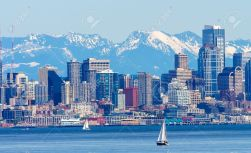 20411430-seattle-skyline-sailboats-puget-sound-cascade-mountains-washington-state-pacific-northwest